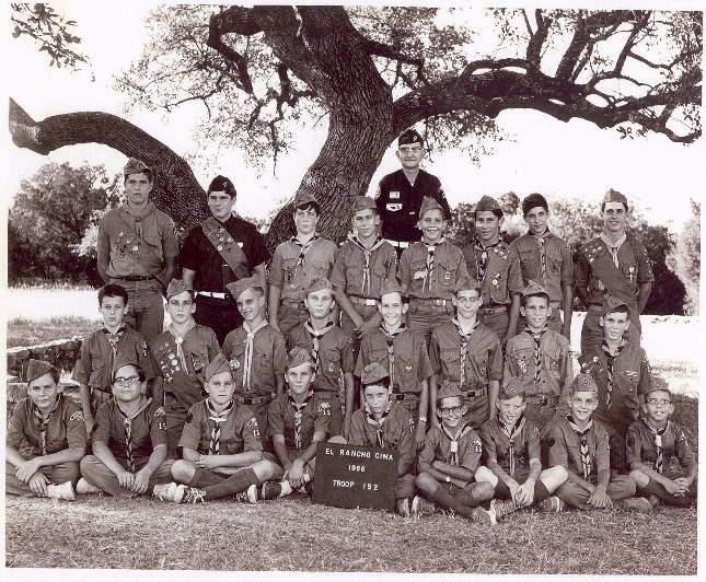 Troop picture from 1966